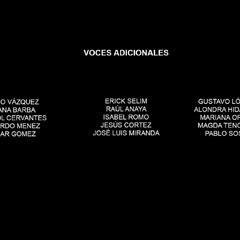 Voces adicionales