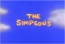 The Simpsons title screen TV