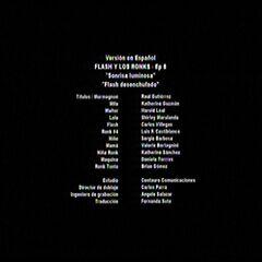 Episodio 8: <i>Sonrisa luminosa / Flash desenchufado</i>.