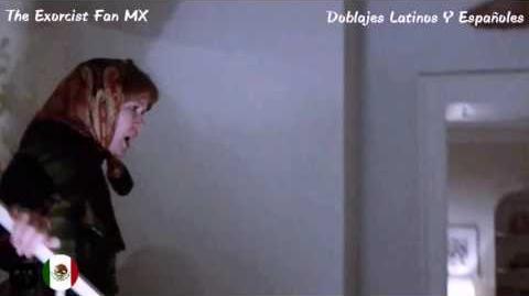 El Exorcista - La Muerte Ataca - ¿Hay Alguien Dentro De Ti? (Doblaje Original Latino)
