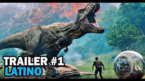 Jurassic World El Reino Caído - Primer Trailer Doblado al Español Latino