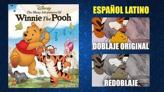 Las aventuras de Winnie Pooh -1977- - Doblaje Original y Redoblaje - Español Latino - Comparación