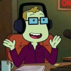Locutor de radio en <a href=