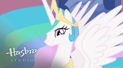 My Little Pony La Magia de la Amistad - Conoce a Celestia