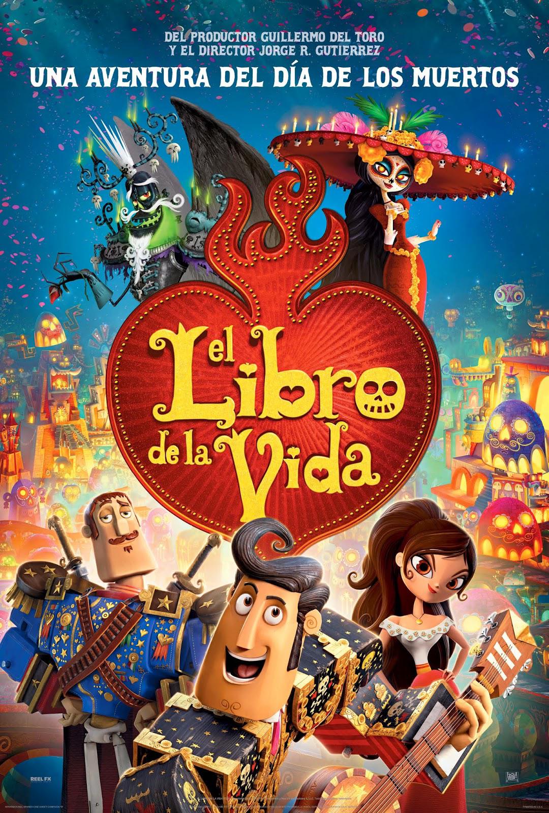 El Libro De La Vida [2014] [1080p BRrip] [Latino-Inglés] [GoogleDrive]