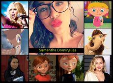 Homenaje a Samantha Domingez