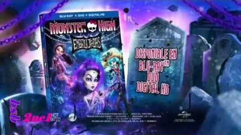 Monster High Tráiler Oficial de Embrujadas Latino