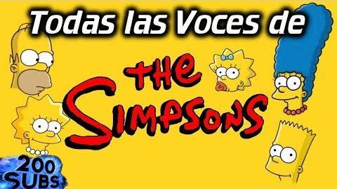 Todas las Voces de Los SIMPSONS en menos de 15 minutos