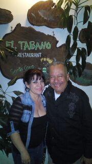 Carmen Fátima y Humberto Vélez