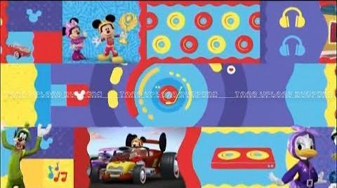 Disney Junior Latinoamérica- ¡La fiesta es aquí! - versión Mickey- Aventuras sobre ruedas