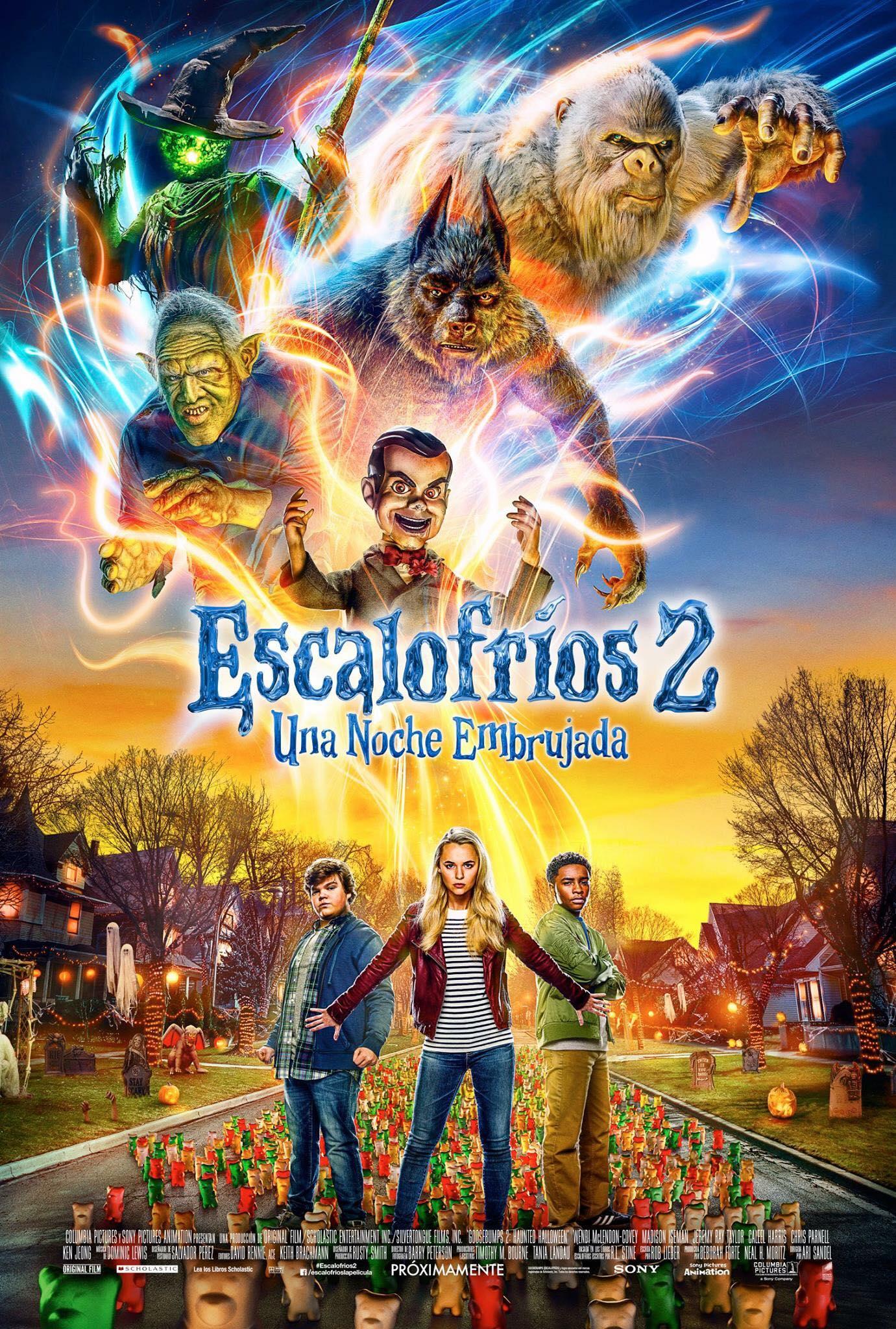 Escalofríos 2, póster oficial