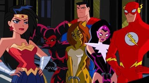 Justice League Action Tiempo de Calidad Webisodio 7