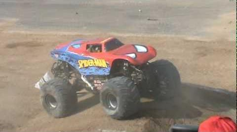 Monster Jam Mexico 2010 Spiderman Freestyle