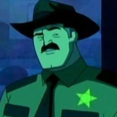Sheriff Bronson Stone en <a href=