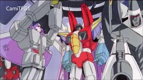 Transformers The Movie Latino- La Muerte De Starscream