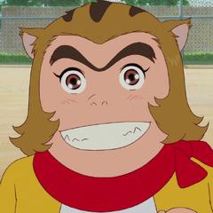 Jiromaru (joven) en <a href=