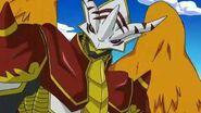 Takuya no logra controlar su digispirits bestia - Latino