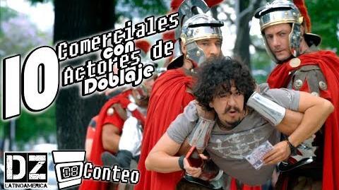 -Conteo- 10 Comerciales con Actores de Doblaje (Video temático de Doblaje, original de DubZone LA)