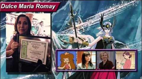 Dulce María Romay comenta sobre el videojuego de Caballeros del Zodiaco
