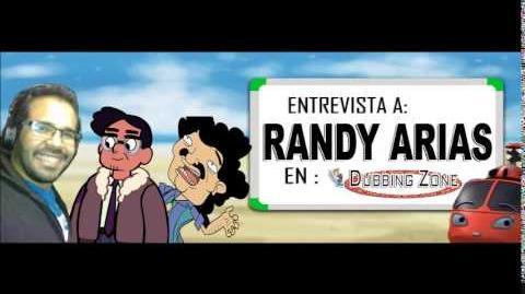 Entrevista a Randy Arias en Dubbing Zone