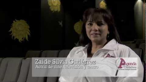 La actriz Zaide Silvia Gutiérrez te invita a participar en la Agenda Ciudadana de Ciencia