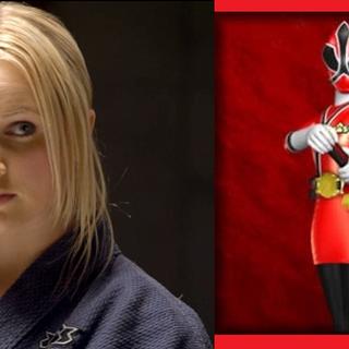 Lauren Shiba (Ranger Samurai Roja), en Power Rangers Samurai
