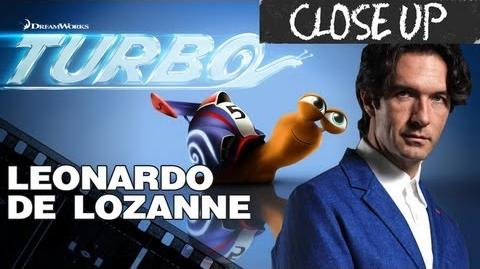 Leonardo de Lozanne en el Close Up de Turbo