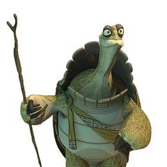 Maestro Oogway (1ª voz) en la franquicia de <a href=