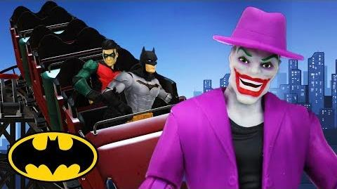 Rollercoaster BATMAN DC Kids