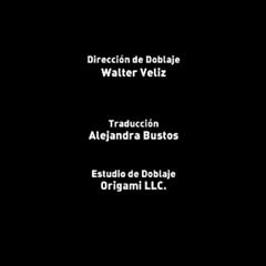 Creditos de doblaje (Episodio 1)