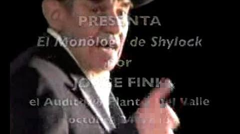 Shylock por Jorge Fink-1