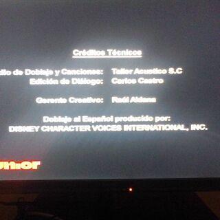 Créditos de TV. (3)