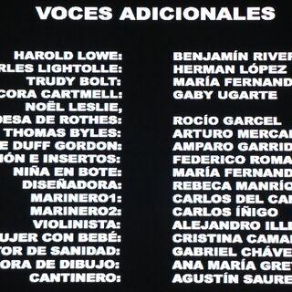 Créditos del Blu-ray - 2
