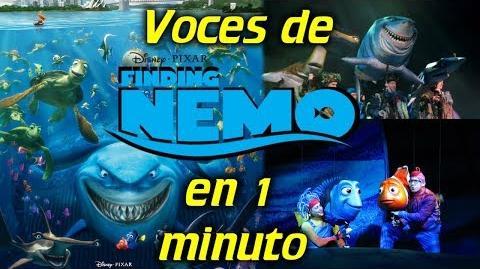 Voces de Buscando a Nemo en 1 minuto- -20