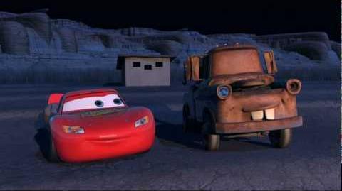 Brincando versión Cars (Easter Egg del DVD)