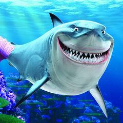 Bruce el tiburón en <a href=