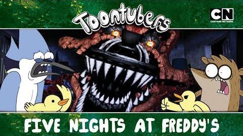 FNAF EL REGRESO ToonTubers Cartoon Network