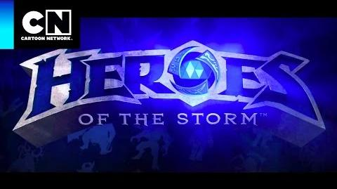 Heroes of the Storm Toontubers Cartoon Network