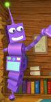 Robot morado WW