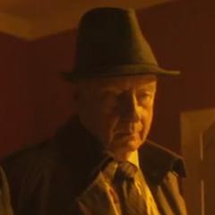 Sr. Wright en la película de terror <a href=