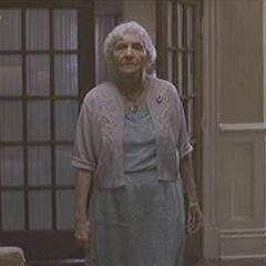 Abuela Sultenfuss en la versión de VHS de <a href=