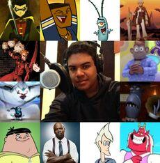 Ángel y algunos de sus personajes-0