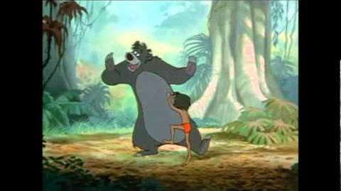 El libro de la selva baloo y mogli