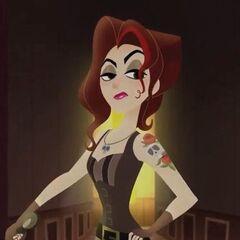Lady Caine en <a href=
