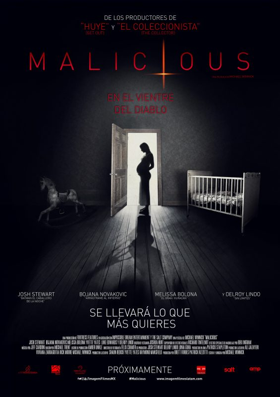 Malicious: En el Vientre del Diablo, póster oficial