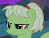 Young Granny Smith smirking at Grand Pear S7E13