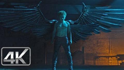 Angel Obtiene sus Alas de Metal Español Latino X-Men Apocalipsis (4K-HD)