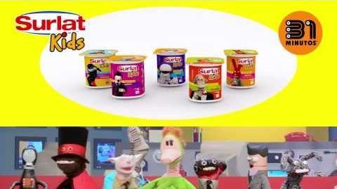 """Anuncio comercial Surlat Kids """"Colación de Tulio"""""""