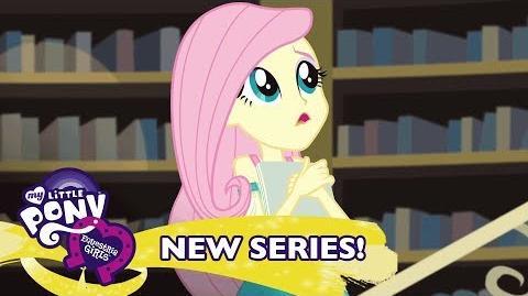 MLP Equestria Girls Temporada 1 Latino América - 'Los Nervios de Fluttershy' 🦋 Short Exclusivo