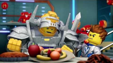 SIR AXL, SIEMPRE HAMBRIENTO - LEGO Nexo Knights - Webisode -5